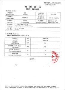 Certifikát pre A193 B8M CL2