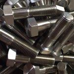 niklová zliatina 600 sk 2.4816 skrutky s čapmi kolies din931 čínsky dodávateľ