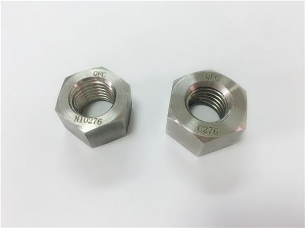 výrobca špeciálnych zliatinových spojovacích materiálov orechy hastelloy c276