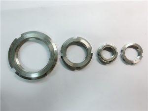 No.33-Čína dodávateľ zakázkové vyrobené z nerezovej ocele okrúhle matice