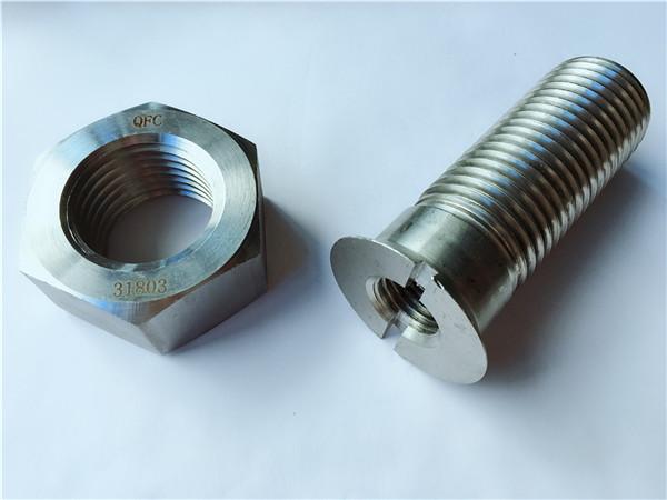 vlastné uhlíkové ocele kovový hardvér sledovať koľajnice a matice