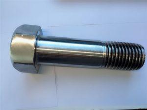 super duplexná skrutka z nehrdzavejúcej ocele din931 so šesťhrannou hlavou